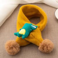 儿童围巾韩版秋冬季保暖脖套男童女童小孩婴儿围脖宝宝围巾 6个月-6岁