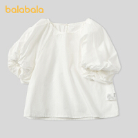 【�_�W季 折后�B券�A估�r:51.3】巴拉巴拉童�b女童�r衣秋�b����上衣�和�泡泡袖短袖�r衫