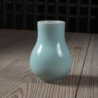 龙泉青瓷 小花瓶 梅子青粉青4色 香道用品 陶瓷 香炉瓶 新款特价