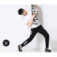 运动裤 男 长裤 保暖 小脚 韩版 跑步裤 收口 哈伦修身