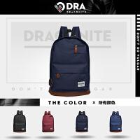 【支持礼品卡支付】DRACONITE复古英伦风潮牌男女学生书包情侣电脑背包双肩包