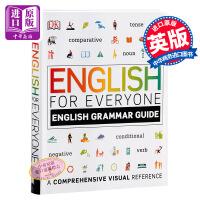 【中商原版】DK 人人学英语语法指南 英文原版 DK-English for Everyone Grammar Guide 英语学习教材 英语自学书籍