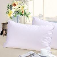 富安娜家纺出品 馨而乐家纺 枕头芯 枕芯 单人枕 纤维枕 健眠枕一个