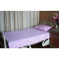 医院用医护病床床上用品三件套床单被罩枕套涤棉纯棉