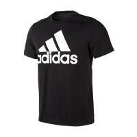 (8.23-25日 满100减30 满279减100)Adidas阿迪达斯 男装 2018新款运动休闲透气短袖T恤 CD4864