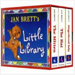 Jan Brett's library The Mitten the Hat Gingerbread Baby珍 布瑞