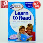 【中商原版】自然拼读法 迷上语音系列学与读2级L2 英文版 Hooked on Phonics Learn to Re