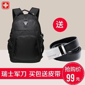 瑞士军刀【可礼品卡支付】双肩包男 女电脑包出游双肩背包 多功能旅行包 大容量书包 学生包