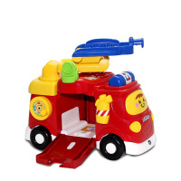 Vtech伟易达神奇轨道大消防车 模型云梯救火车汽车模型消防车玩具