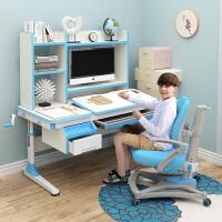 乐仙乐居儿童学习桌实木书桌小学生写字桌椅组合可升降桌椅套装605