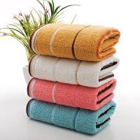 10条装毛巾批�l棉柔软加厚吸水面巾家用洗脸棉结婚回礼好定制 32x72cm