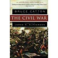 The Civil War (American Heritage Books)【英文原版】美国内战