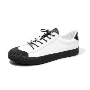 白鞋子男生小白鞋韩版潮流白色休闲鞋男士百搭运动鞋板鞋男鞋秋季