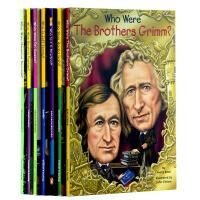 Who Was 系列儿童作家7册套装 儿童读物英文原版 青少年读物 初级章节书 进口少儿读