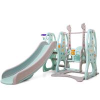 儿童滑滑梯秋千组合小型室内家用游乐园幼儿园宝宝小孩玩具