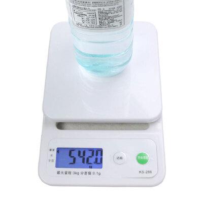 厨房秤烘焙电子称克称厨房称电子秤0.1g茶叶称食物台秤3kg带托盘