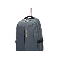 双肩包男士拉杆背包18寸旅行拉杆箱女中学生儿童拉杆书包 18寸