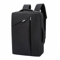 电脑包男女双肩背包15.6寸防泼水时尚潮流苹果笔记本学生运动风书包单肩潮包手提商务简约多功能收纳 15.6英寸