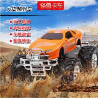 彩珀怪兽卡车模型合金车模小汽车大脚悍马越野车惯性儿童礼物