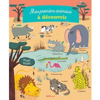 【现货】法语原版 我先发现的动物 Mes premiers animaux à découvrir 儿童认知启蒙 大开