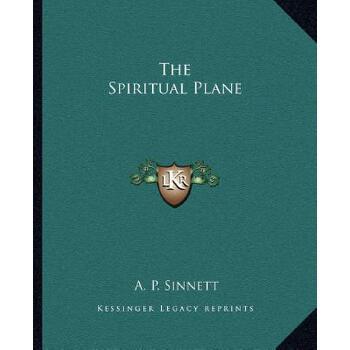 【预订】The Spiritual Plane 9781162890234 美国库房发货,通常付款后3-5周到货!