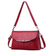 女士包包新款小包潮百搭手提斜挎包妈妈中年韩版单肩女包软包
