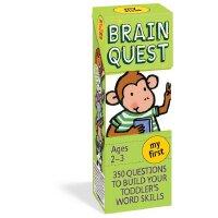 【中商原版】Brain Quest大脑任务 美国少儿智力开发系列 英文原版