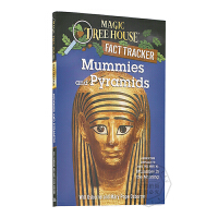 英文原版Mummies and Pyramids: A Nonfiction Companion to Magic T