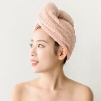 干发帽吸水儿童加厚浴帽擦头发包头速干发毛巾