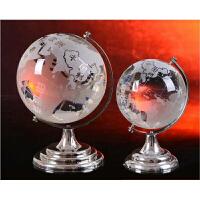 精美地球仪摆件 水晶工艺品家居装饰礼品 学生老师礼品