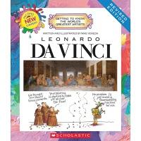 【中商原版】学乐我需要知道的伟大艺术家系列 达芬奇 英文原版 Leonardo Da Vinci
