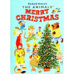The Animals' Merry Christmas (Little Golden Book) 动物们的圣诞节(金