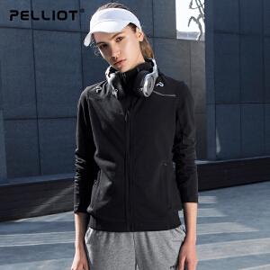 【到手价:206】伯希和户外卫衣 新品春季新款时尚男女休闲外套学生连帽运动服