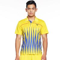 威克多VICTOR胜利羽毛球服运动比赛T恤大赛服男女情侣款