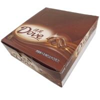 【包邮】德芙(Dove) 醇香摩卡及烤巴旦木 盒装 516g (12条*43g) 办公室休闲零食