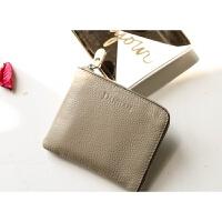 零钱包女短款2018款皮学生韩版可爱迷你薄款钱夹皮卡包