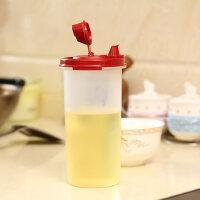 特百惠 650ML油壶魔法防漏调味油壶调料壶