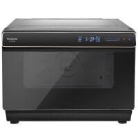 松下 Panasonic 电烤箱 NU-SC300 蒸烤箱 直喷三段蒸汽 平面烘烤技术 30L容量 家用多功能 智能菜