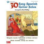 【预订】30 Easy Spanish Guitar Solos [With CD]
