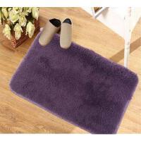 丝毛加厚地毯客厅地毯沙发茶几地毯卧室床边毯满铺地毯榻榻米地垫40*60cm灰色