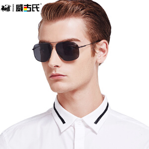 威古氏太阳镜男 司机专用男士墨镜偏光镜男偏光开车驾驶镜眼镜3128