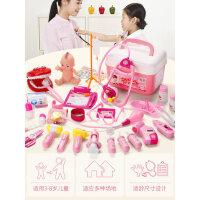 仿真医疗箱儿童过家家小医生玩具套装打针护士男孩女孩听诊器宝宝