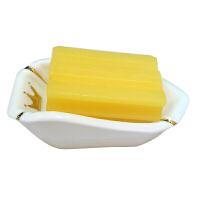 肥皂盒 欧式陶瓷香皂盒子大号沥水香皂架创意卫生间酒店餐厅托皂碟香皂盒Q