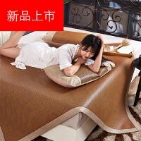 日本购藤席席子1.8m床凉席1.5三件套1.2米草席可折叠单人宿舍学生定制 席子套件