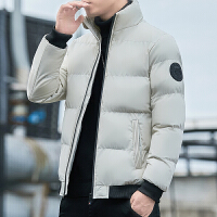 棉衣男士短款棉�\冬季加厚外套衣服潮牌保暖男�b