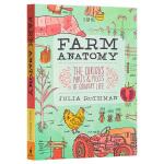 【中商原版】农场解剖学 英文原版 Farm Anatomy Julia Rothman Storey Publishi