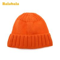 【3件4折:15.6】巴拉巴拉�和�帽子��冬季新款百搭�n版瓜皮帽男女童毛�帽洋�獬�
