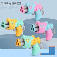 儿童玩具软弹子弹射击类吸盘小手枪发射器男孩女孩三四3-4-5岁