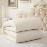 手工棉花被子新疆棉被冬被芯垫被褥学生宿舍单人双人加厚棉絮床垫 垫盖二用 90x200cm