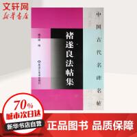 褚遂良法帖集 黑龙江美术出版社